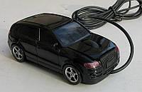 Мышка компьютерная проводная Audi Q5 черная