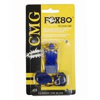 Свисток Fox-80 на шнурке пластик