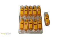 Свисток желтый (10 штук в упаковке)