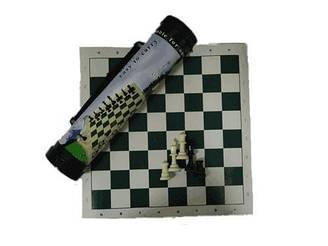 Шахматы в тубусе (маленькие)