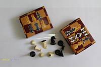 Фигуры шахматные (пластик)