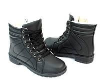 Модные высокие ботинки размеры 37,38, фото 1