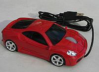Мышка компьютерная проводная Ferrari F430 красная