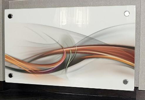 Декоративный экран из стекла для радиатора.экран для батареи.ограждение для радиаторов. - Стекольная компания Vitrum в Киеве