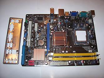 ASUS P5KPL-AM SE  Socket 775 Б/У Поддержка Core2Duo Core2Quad XEON