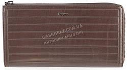 Кошелек барсетка мужской кожаный SALVATORE FERRAGAMO art. F7-7117М коричневый, гладкая кожа