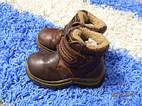 Ботинки из натуральной кожи на меху