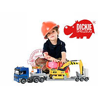 Игровой набор Строительная техника Dickie 3414805N