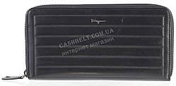 Кошелек барсетка мужской кожаный SALVATORE FERRAGAMO art. F7-7116А черный, гладкая кожа