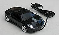 Мышка компьютерная проводная Ferrari F430 черная