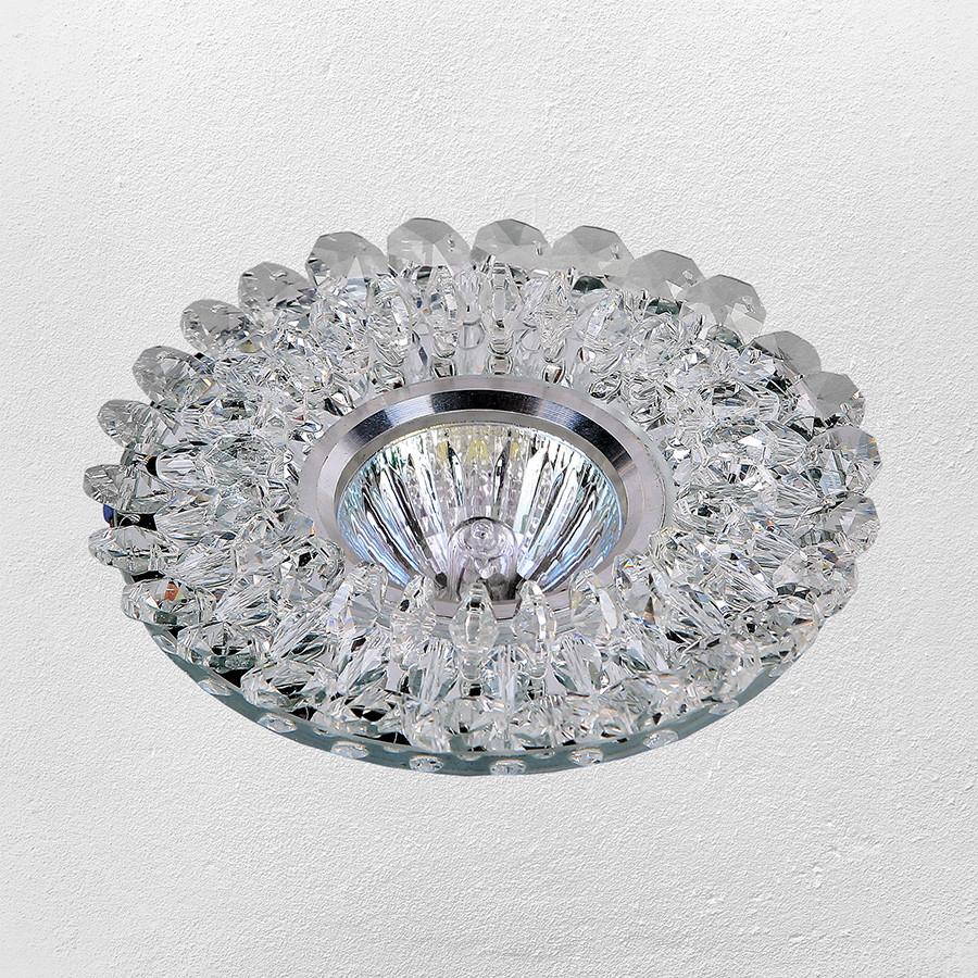 Точечный врезной светильник (модель 47-6023 белый)