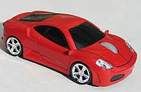 Мышка компьютерная беспроводная Ferrari F430 красная