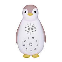 ZAZU - Детский ночник и музыкальный бокс Пингвинёнок Зое (цвет розовый)