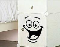 Интерьерная  наклейки на детские шкафчики  (019)