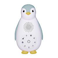 ZAZU - Детский ночник и музыкальный бокс Пингвинёнок Зое (цвет синий)