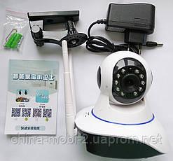 Беспроводная WIFI IP P2P поворотная камера dvr YooSee Onvif YY HD WiFi 6030B/100ss (видеоняня), фото 3