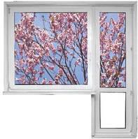 Акция. Балконный блок WDS 5-камерный (балконная дверь и окно)