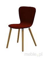 Кресло OSAKA красный, ткань, дуб 22183-8