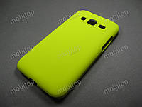 Пластиковый чехол Samsung Core Prime G360 / G361 (желтый)