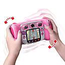 Детский фотоаппарат Vtech Kidizoom Camera DUO Pink с видео записью, фото 4