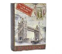 Книга-сейф деревянная маленькая