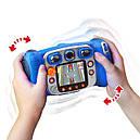 Детский фотоаппарат Vtech Kidizoom Camera DUO Blue с видео записью, фото 3