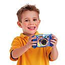 Детский фотоаппарат Vtech Kidizoom Camera DUO Blue с видео записью, фото 5