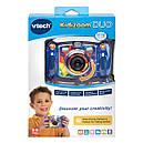 Детский фотоаппарат Vtech Kidizoom Camera DUO Blue с видео записью, фото 8
