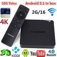 Smart TV (смарт тв) Android приставка Tronsmart Vega S95 Telos 2GB ОЗУ
