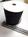 Кружево черное тонкое 4 см , фото 2