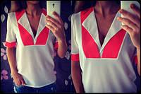Женская блузка из креп-шифона