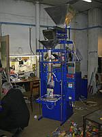 Фасовочно упаковочный автомат на сжатом воздухе с одним весовым дозатором