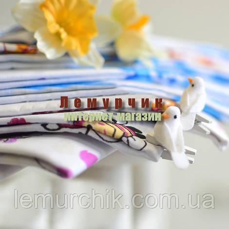 Комплект нежные ситцевые пеленки (4 шт)