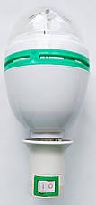 Диско лампа вращающаяся LED lamp для вечеринок LASER LY 399 E27, фото 3