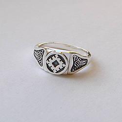"""Кольцо - перстень """"Репейник счастья"""""""