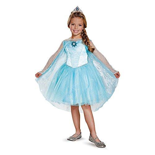 Карнавальный костюм принцесса Эльза Холодное сердце Frozen Elsa 7-8 лет