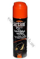 Краска аэрозоль для замши и нубука черный 250 мл Action