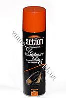 Краска аэрозоль для гладкой кожи черный 250 мл Action