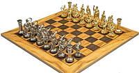 Шахматы Оливковый совет размером 50*50 см SE10