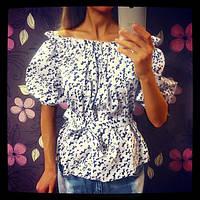 Красивая женская блузка из коттона