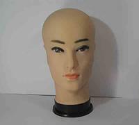 Манекен мужская голова телесного цвета с макияжем, фото 1