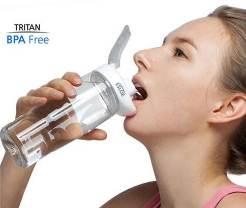 Бесконтактная бутылка для воды ESLOE Sport,500 мл