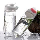 Бесконтактная бутылка для воды ESLOE Sport,500 мл, фото 2