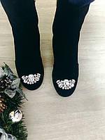 Шикарные ботиночки с камнями