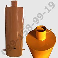 Бак для дровяного титана - колонки на 60 л старого образца - 32 см