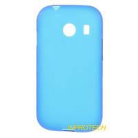 Накладка Silicon Case для Samsung G310 Blue