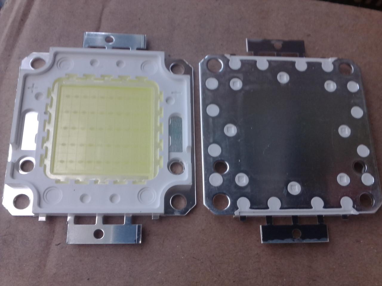 Светодиод 50 ватт под драйвер медь матрица 50w для прожектора 50w 30-36v