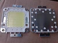 Светодиод 50 ватт 6500К медь матрица 50w для прожектора 50w 34v