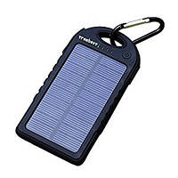 УЗУ Power Bank 2in1 Solar Charger (Real 12000mAh) black