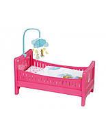 Кроватка для куклы Радужные сны Baby Born Zapf Creation 822289